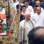 Vajpayee funeral: Modi surprised all by walking through 4 km with procession