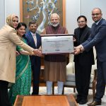 PM Modi receives the first-ever Philip Kotler Presidential Award for his leadership