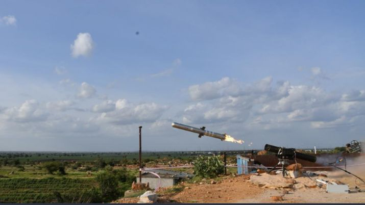 successfully tests portable anti-tank guided missile