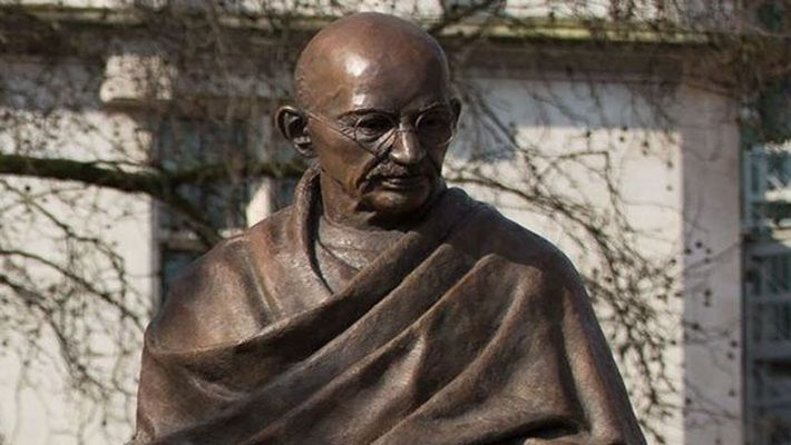 America / a country where Gandhi never went, there is the highest number of Gandhi statues and monuments after India